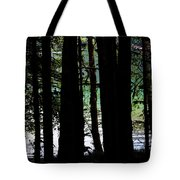 Beach Forest Tote Bag