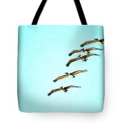 Beach Formation Tote Bag