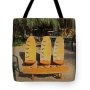Beach Furniture Tote Bag