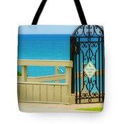 Beach Gate Tote Bag
