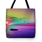Beach Girl 3 Tote Bag