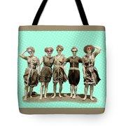 Beach Girls Tote Bag