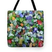 Beach Glass Mix Tote Bag