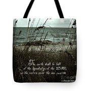 Beach Grass Oats Isaiah 11 Tote Bag