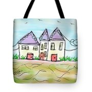 Beach Homes Tote Bag