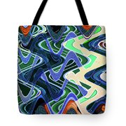 Beach Hotel Abstract 8102-3 Tote Bag