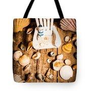 Beach House Artwork Tote Bag