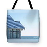 Beach House Blues Tote Bag