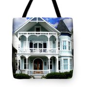 Beach House Panel 1 From Triptych Tote Bag