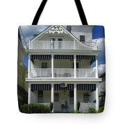 Beach House Panel 2 From Triptych Tote Bag