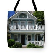 Beach House Panel 3 From Triptych Tote Bag