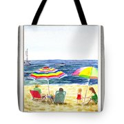 Beach House Window Tote Bag
