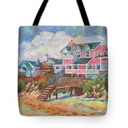Beach Houses At Pawleys Island Tote Bag
