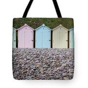 Beach Huts X Tote Bag