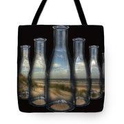 Beach In Bottles Tote Bag