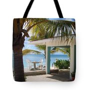 Beach In Grand Turk Tote Bag
