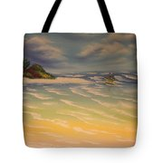 Beach Island Tote Bag