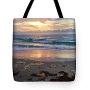 Beach Layers Tote Bag