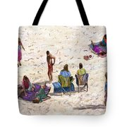 Beach Life Cornwall Tote Bag