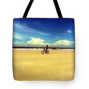 Beach Life On Daytona Beach Tote Bag