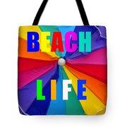 Beach Life Smart Phone Work A Tote Bag
