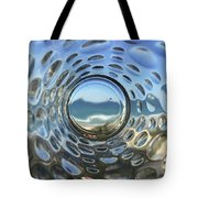 Beach Life Through The Looking Glass Tote Bag
