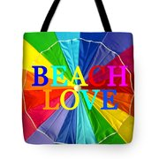 Beach Love Umbrella Spca Tote Bag