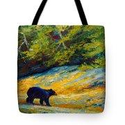 Beach Lunch - Black Bear Tote Bag