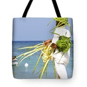 Beach Man Tote Bag
