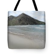 Beach Mountain Clouds Tote Bag