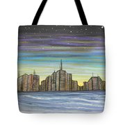 Beach Night Life Tote Bag