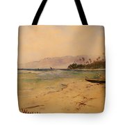 Beach Of Waikiki  Tote Bag
