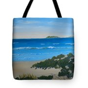 Beach On The North Coast Of Nsw  Tote Bag