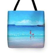 Beach Painting - A Sea Breeze Tote Bag