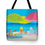 Beach Painting - Beach Life Tote Bag