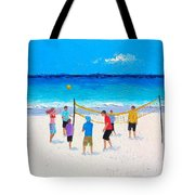 Beach Painting Beach Volleyball Painting By Jan Matson