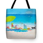 Beach Painting - Lazy Beach Day Tote Bag