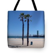 Beach Palms Tote Bag
