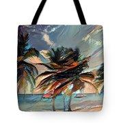Beach Palms - Multi 9a Tote Bag