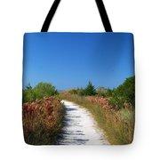 Beach Path Tote Bag