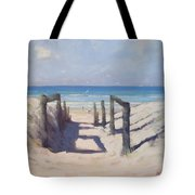 Beach Path Tote Bag