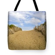 Beach Path To The Sea Tote Bag