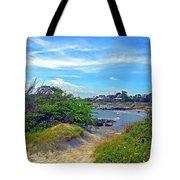 Beach Path Wisdom Tote Bag