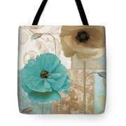 Beach Poppies Tote Bag