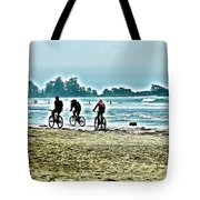 Beach Ride Tote Bag