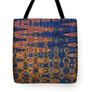 Beach Sand Erosion Abstract Tote Bag