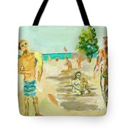 Beach Scence Tote Bag