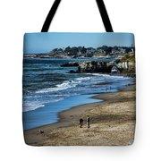 Beach Scene California  Tote Bag