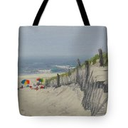 Beach Scene Miniature Tote Bag