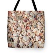 Beach Seashells Tote Bag